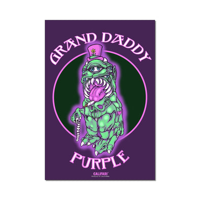 Grand Daddy Purple Strain Art