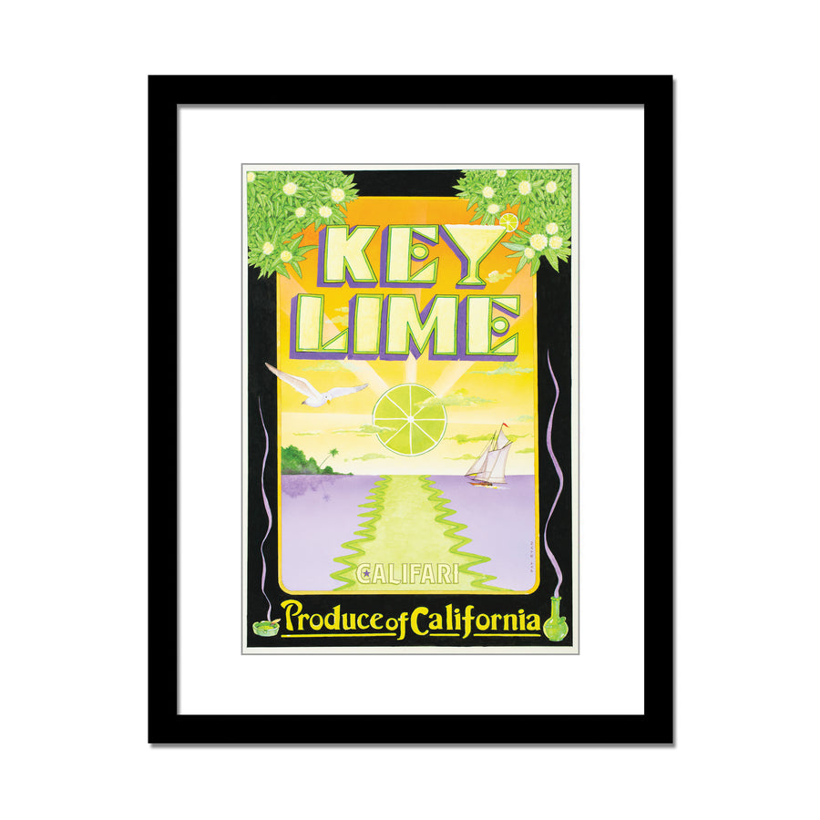 Key Lime 13 x 19 Lithograph Poster