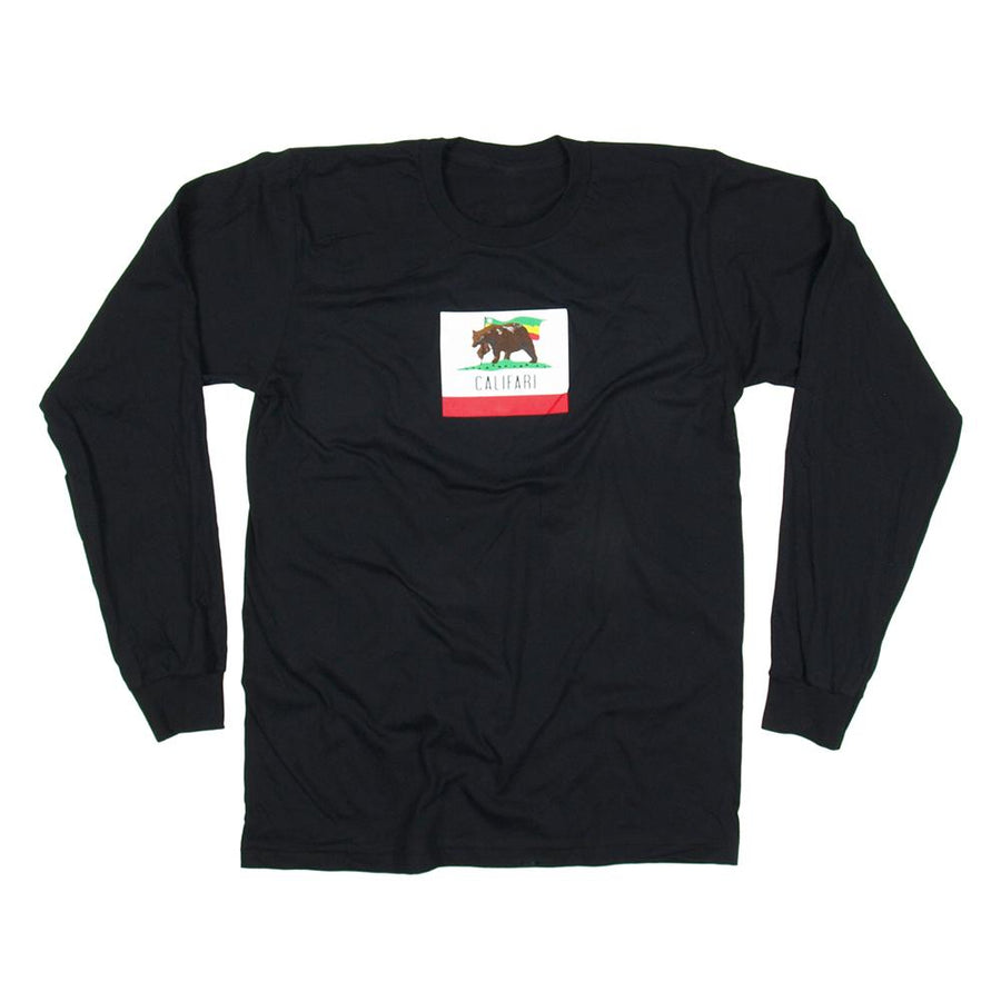 The Original Bear Flag Long Sleeve – Black