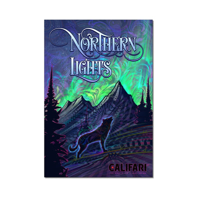 Northern Lights Strain Art