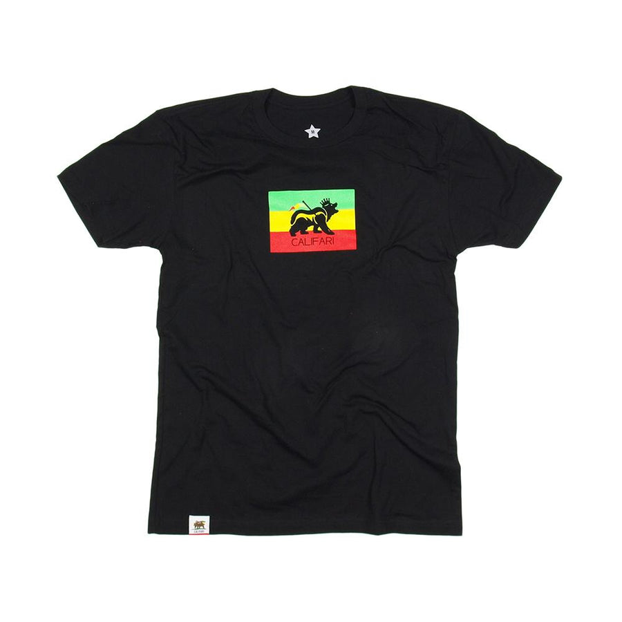 King Rasta Bear Shirt with Neon in New Black