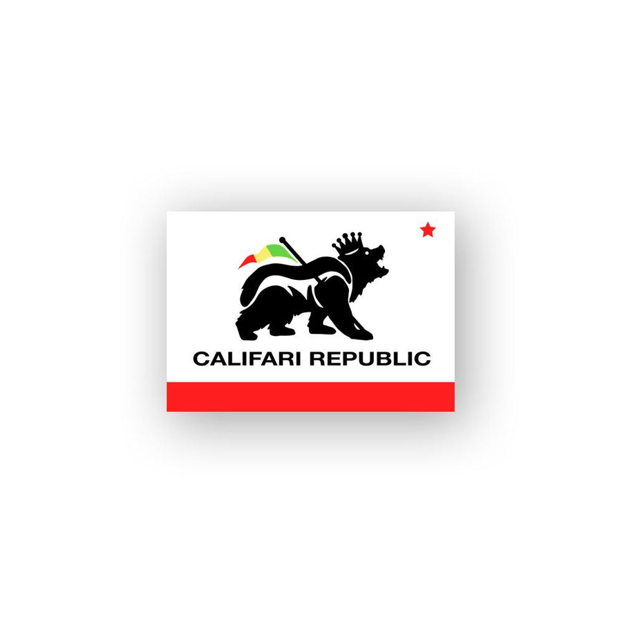 Califari Republic Sticker