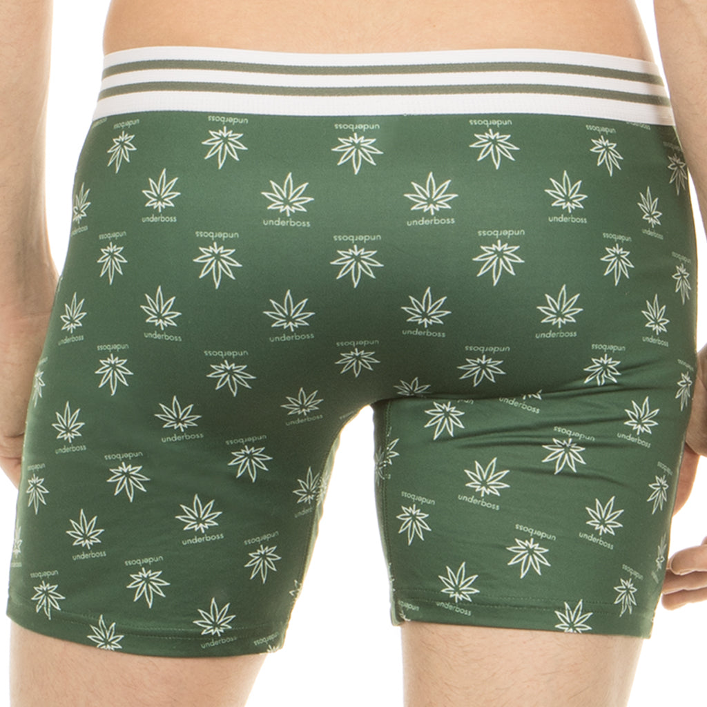 Sport Leaf Boxer Brief