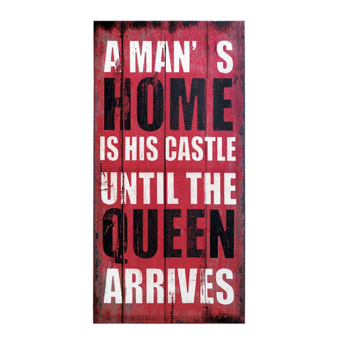 Queen of the House Wall Art Decor Plaque