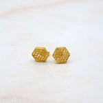 Gaudi Paseo de Gracia Gold Earrings
