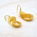 Sophia Loren Gold Earrings