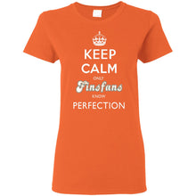 KEEP CALM only FINSFANS know PERFECTION Womens' T-Shirt (from $20)