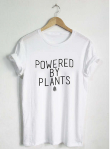 Women's Powered by Plants Tee