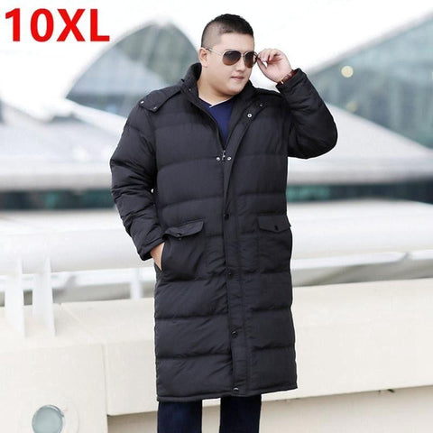 10XL PlusSize Overknee Winter Coat 8XL 7XL 6XL - Pricedok