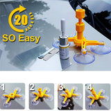 l Car Windshield Repair Tool 1 Set Repair Agent Suction Cup Auto Front Window Repairing Paintless Dent Removal Tools - Pricedok