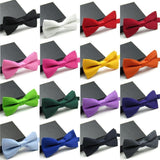 Classic Solid Color Bow Tie - Pricedok