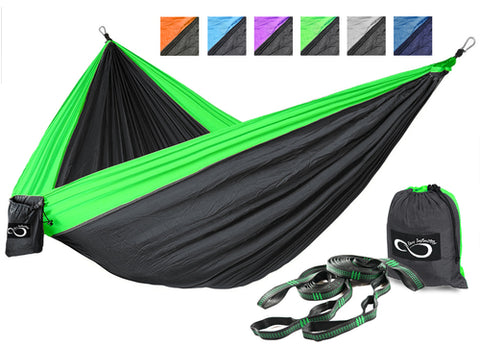 Double Camping Hammocks With Included Tree Straps - Pricedok
