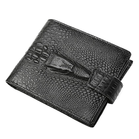 Cow Leather Bi-fold Wallet - Pricedok