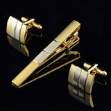 Cuff links & Tie Bar Clip Set - Pricedok