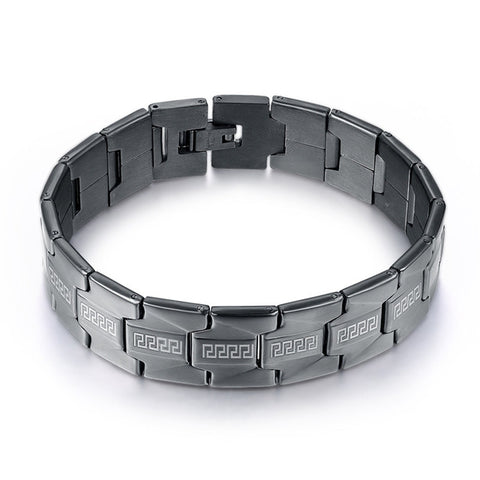 Stainless Steel Link Bracelet - Pricedok