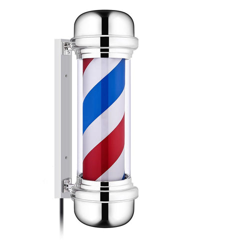 "28""Red Blue White Stripes Style Barber Shop Sign - Pricedok"