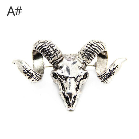 Accessories Jewelry Top Grade Fashion Exquisite Punk Gift Sheepshead Mens Brooch Suits Badge - Pricedok