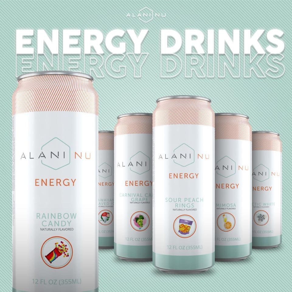Alani Nu Energy Drinks