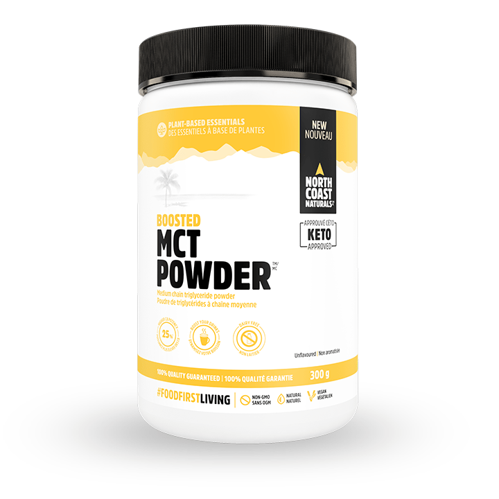 North Coast Naturals - MCT Powder - Unflavoured