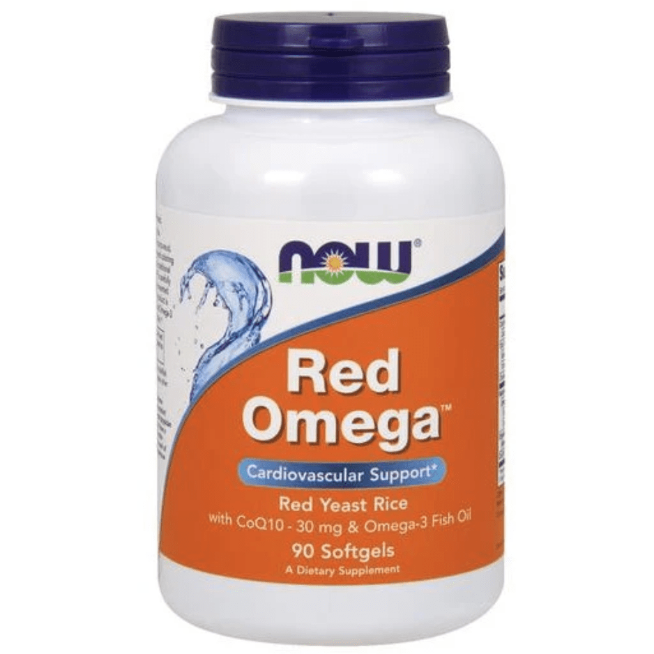 NOW Red Omega (Red Yeast Rice)