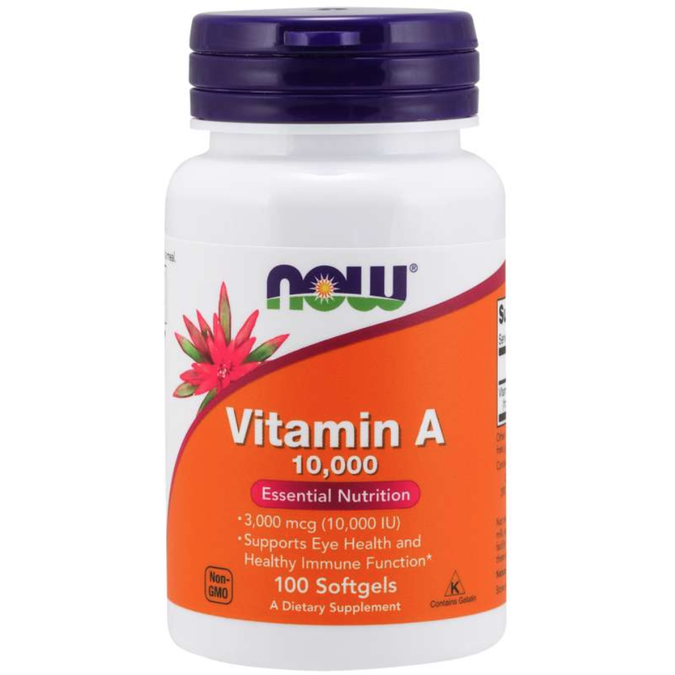 NOW Vitamin A 10,000 IU - 100 cap