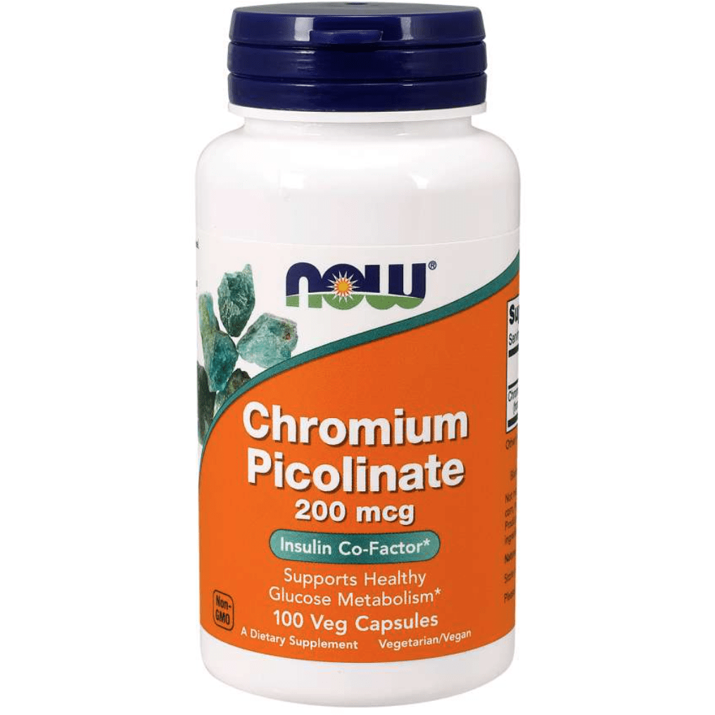 NOW Chromium Pocolinate 200mcg