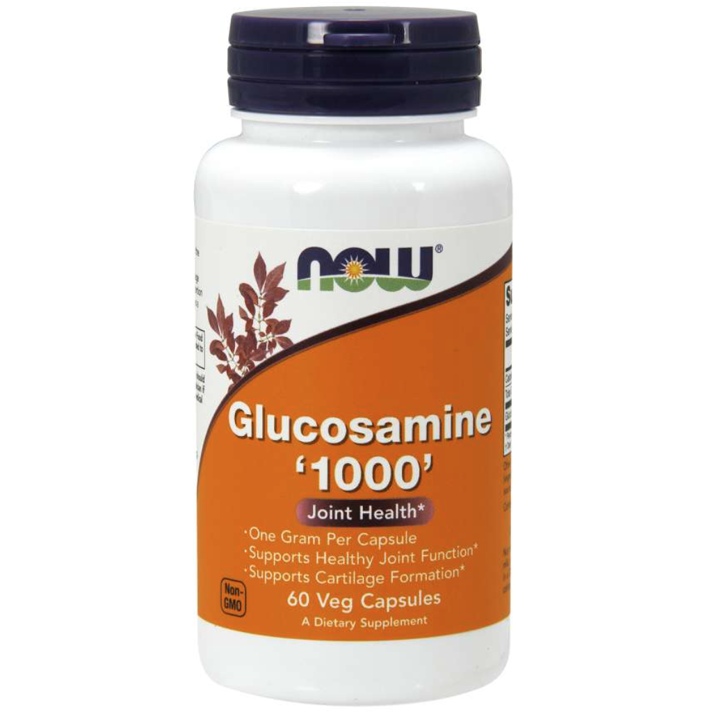 NOW Glucosamine HCL 1000mg 60 cap