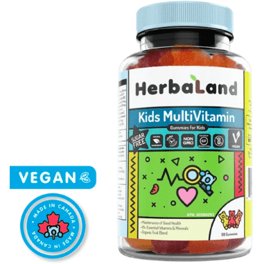 Herbaland Kids Multivitamin Gummies