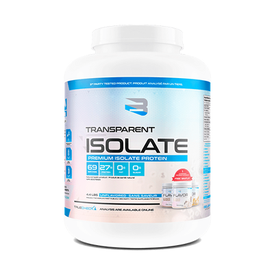 Believe Supplements Transparent Isolate