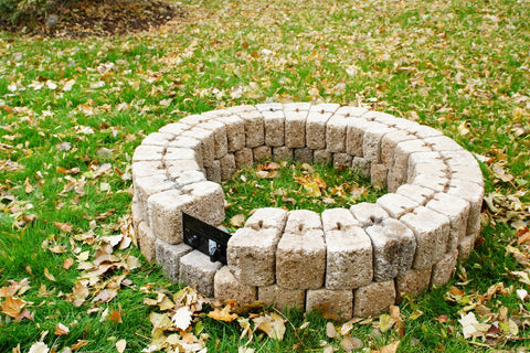 38 Round Diy Gas Fire Pit Burner Kit Total Fire Pit Solutions
