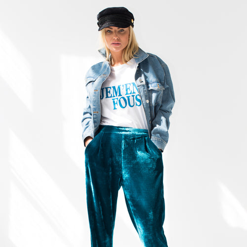Bordeaux Pants Blue