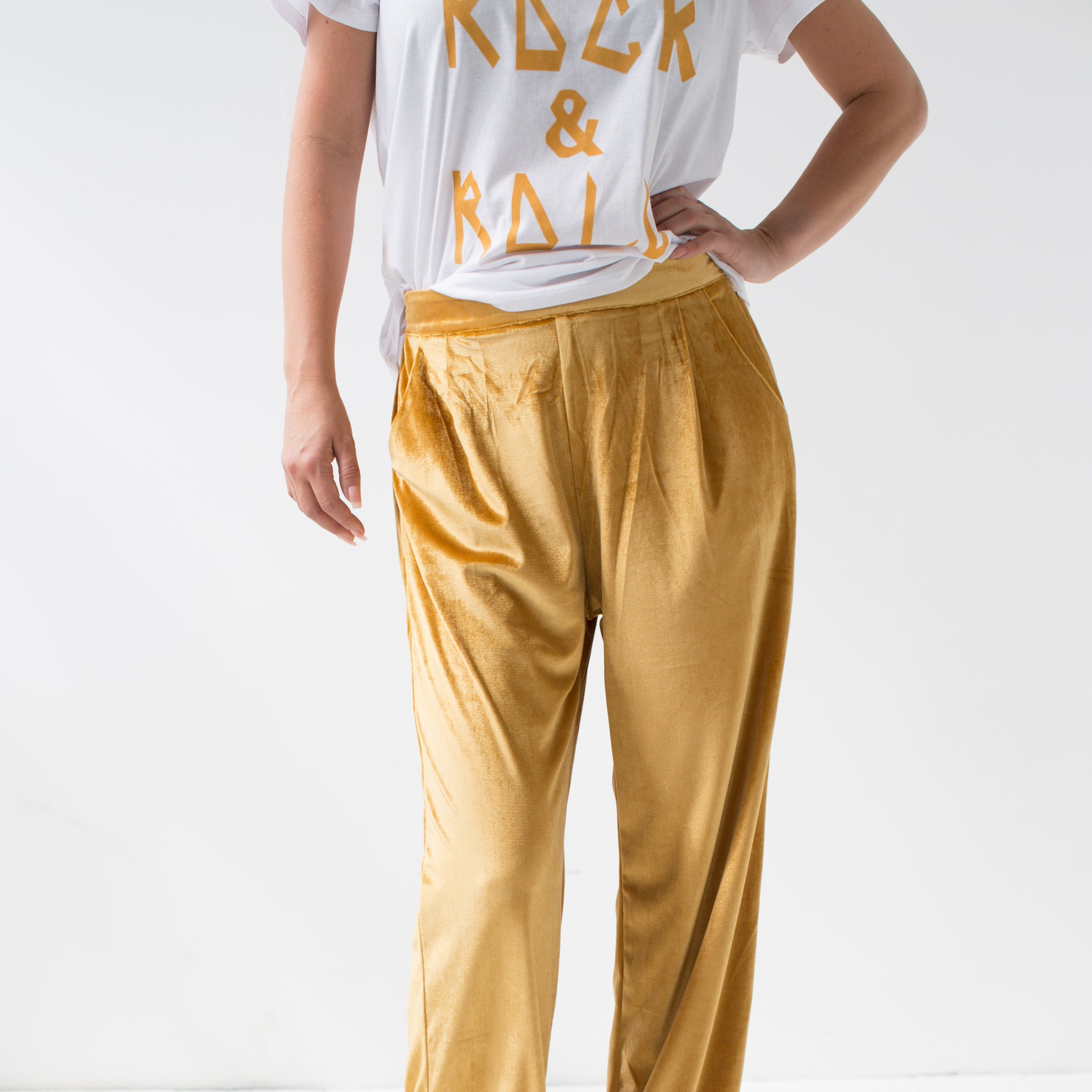 Bordeaux Pants Mustard