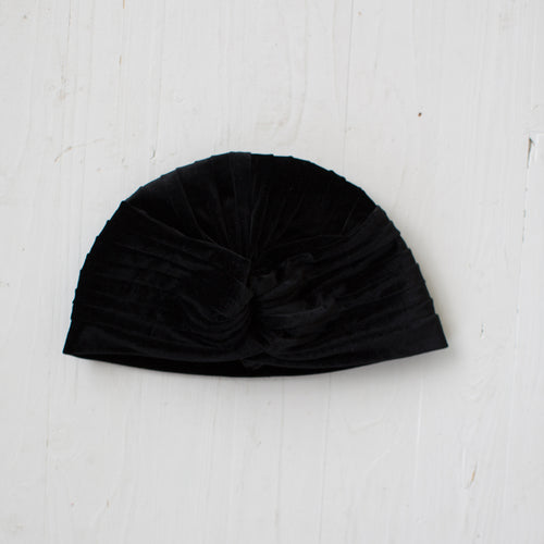 Turban hat black