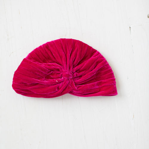 Turban hat Peach
