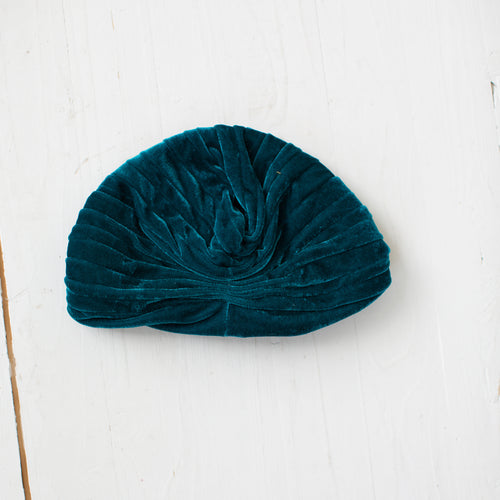 Turban hat Blue