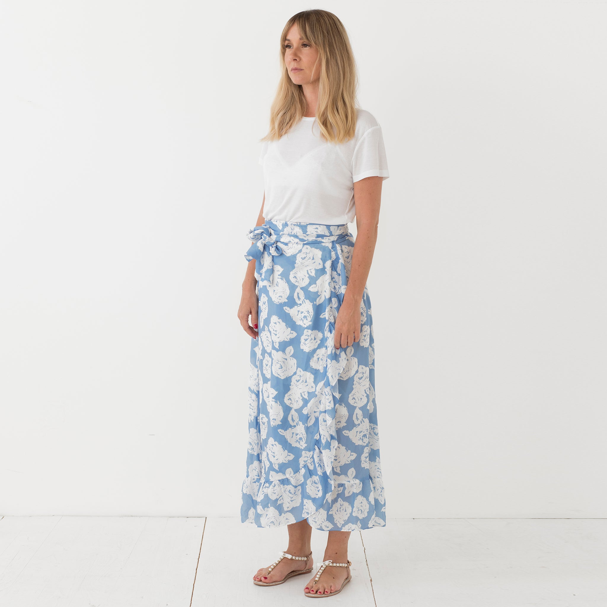 Juni skirt Blue Rose