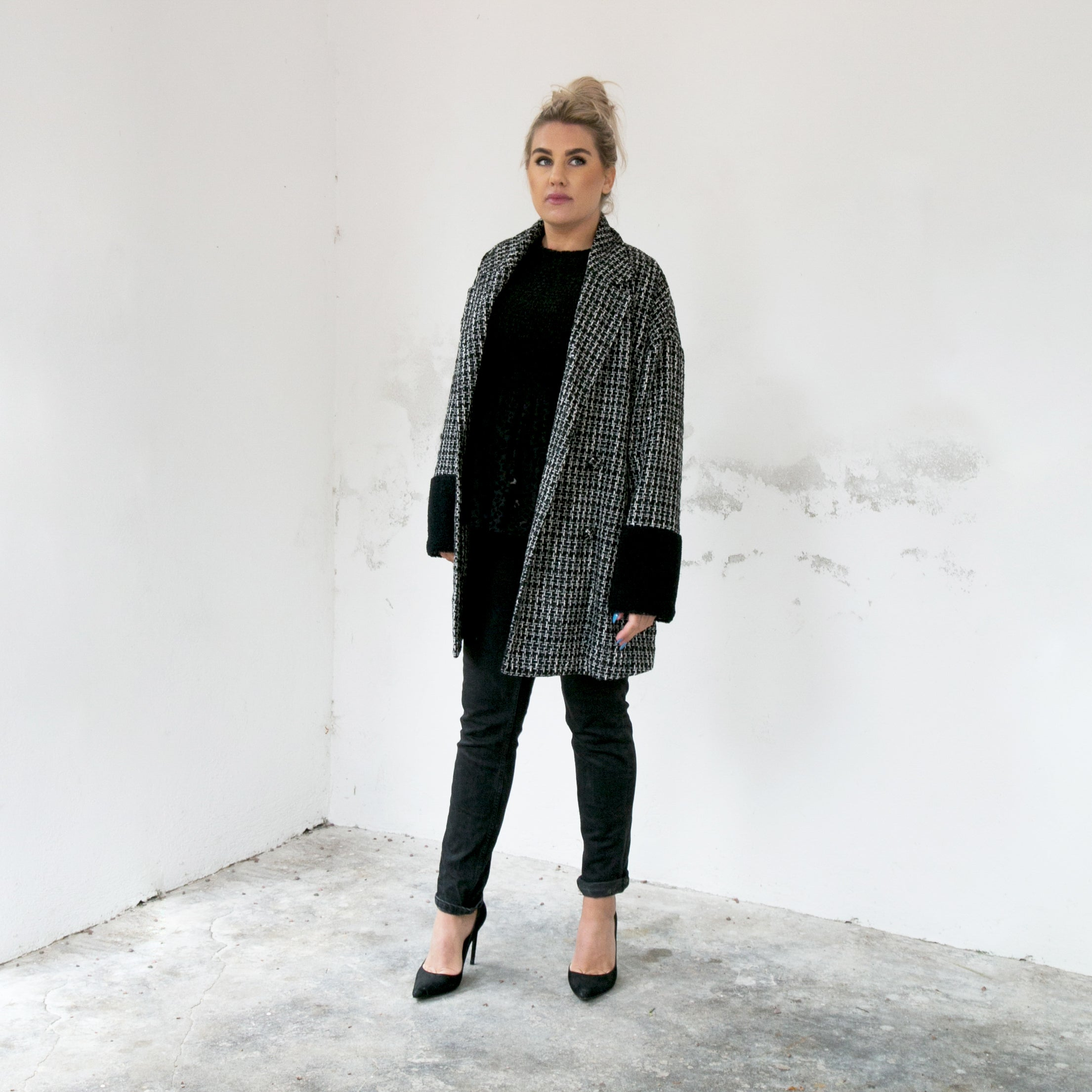 Sparkling Square Coat