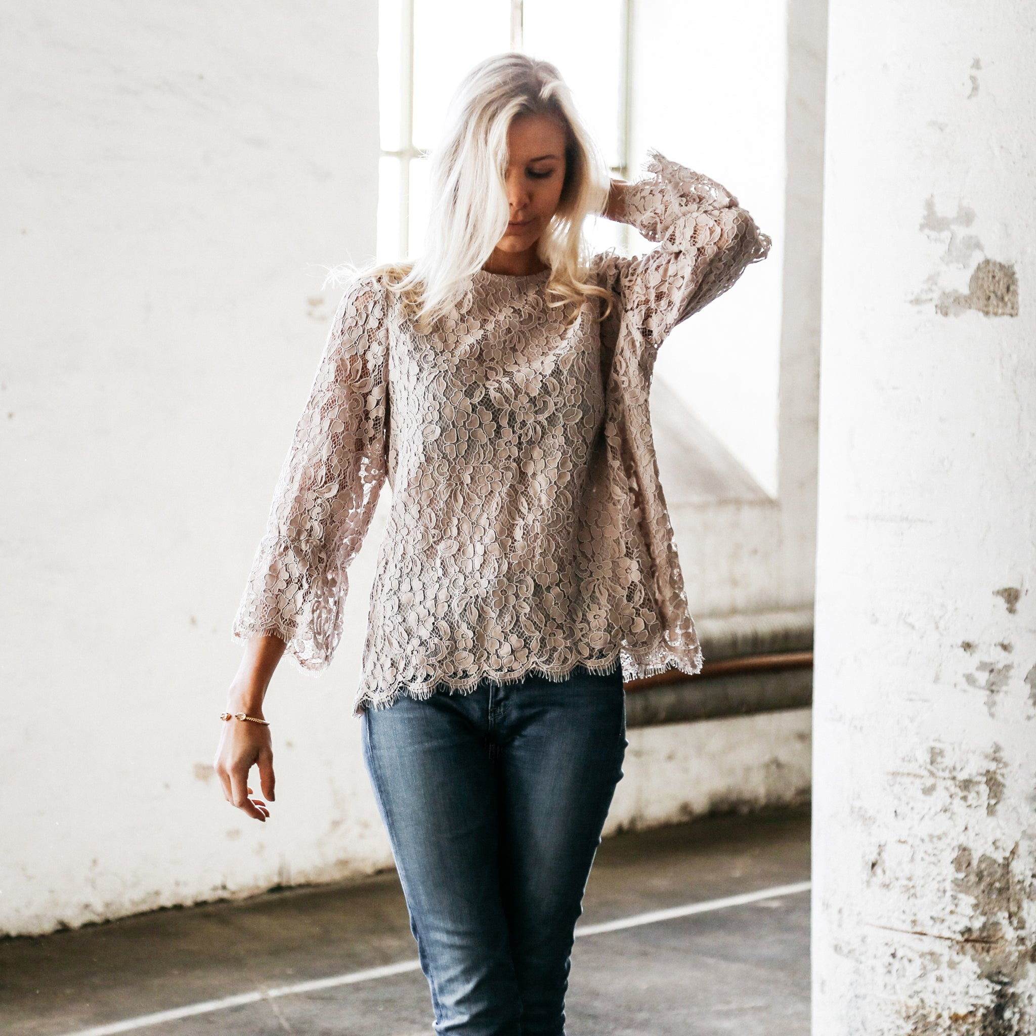 Moshi Top Lace Nude - Les Levres