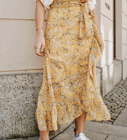 Diana Dress Yellow flower