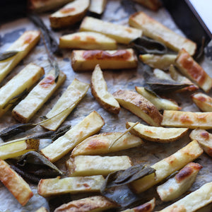 Home-made Baked Fries