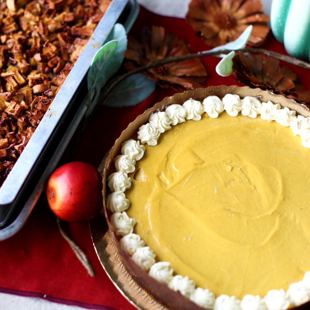 Vegan and Gluten-Free Thanksgiving Pies