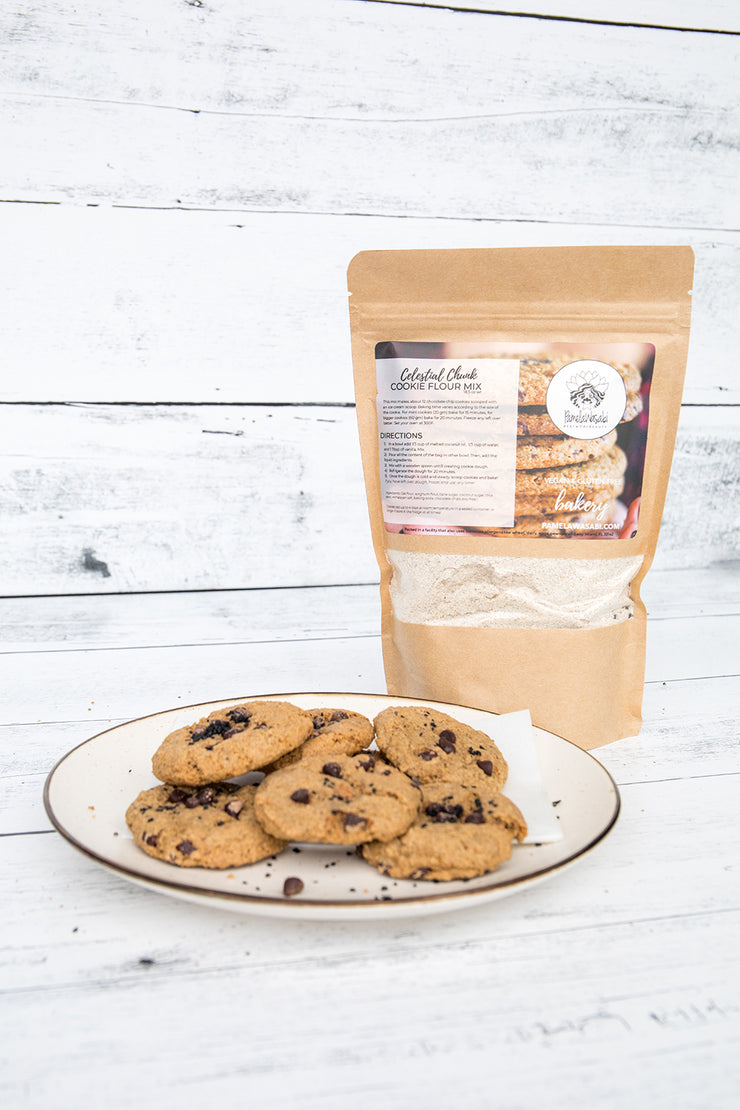 Celestial Chocolate Chip Cookie Flour Mix
