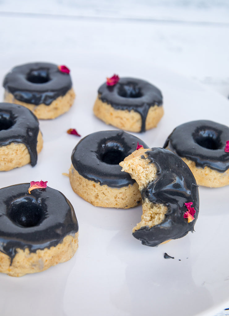 Chrome Rose Donuts