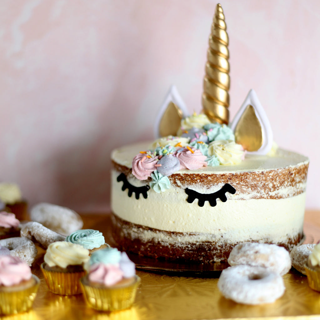 Birthday Cake: Unicorn Cake, and Cake Themed Set