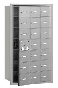 21 Unit (20 Usable) - Horizontal 4B+ Mailbox - Front Loading