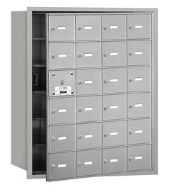 24 Unit (23 Usable) - Horizontal 4B+ Mailbox - Front Loading