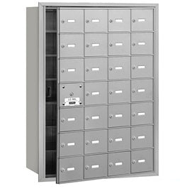 28 Unit (27 Usable) - Horizontal 4B+ Mailbox - Front Loading