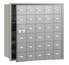 30 Unit (29 Usable) - Horizontal 4B+ Mailbox - Front Loading