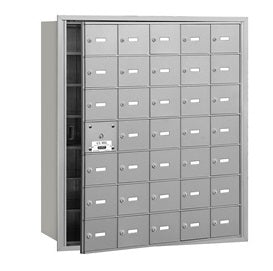 35 Unit (34 Usable) - Horizontal 4B+ Mailbox - Front Loading