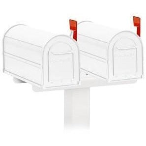 Salsbury Spreader Double Mailbox Package